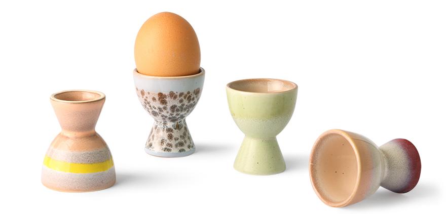 De nydeligste eggeglass i keramikk fra HK Living