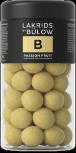 Lakris med passion fruit fra Bulow.
